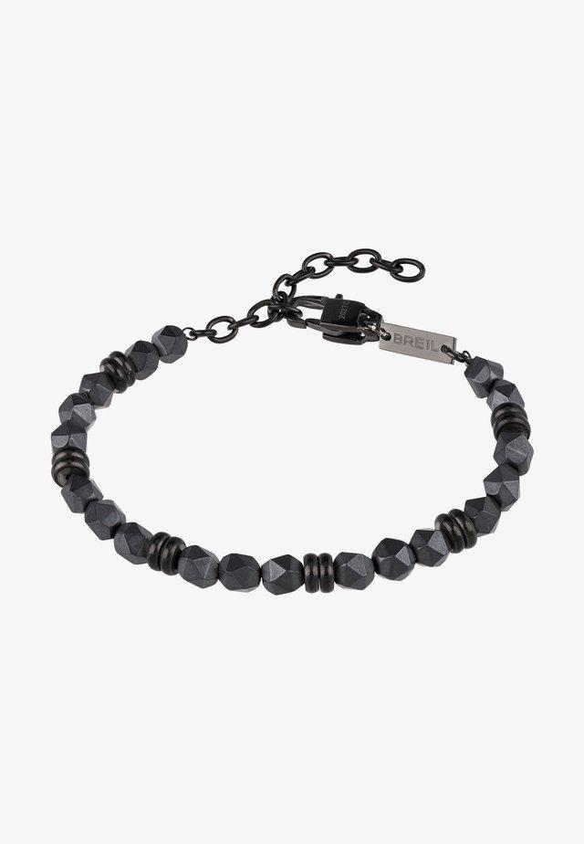 Bracciale - grigio-nero