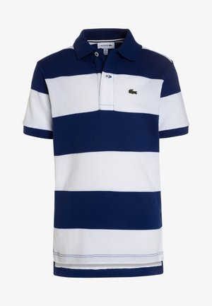 BOYS SHORT SLEEVED COLLAR  - Polo - capitaine/blanc