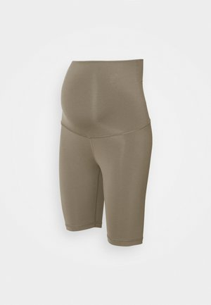 LUX MATERNITY SHORT - Leggings - trek grey