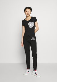 Love Moschino - Verryttelyhousut - black - 1