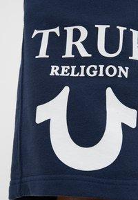 True Religion - SHORT LOGO PUFFY - Tracksuit bottoms - dark blue - 5