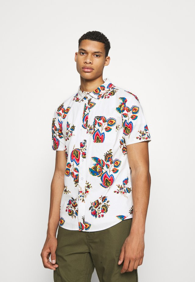 CHARTER PRINT - Overhemd - off white/red