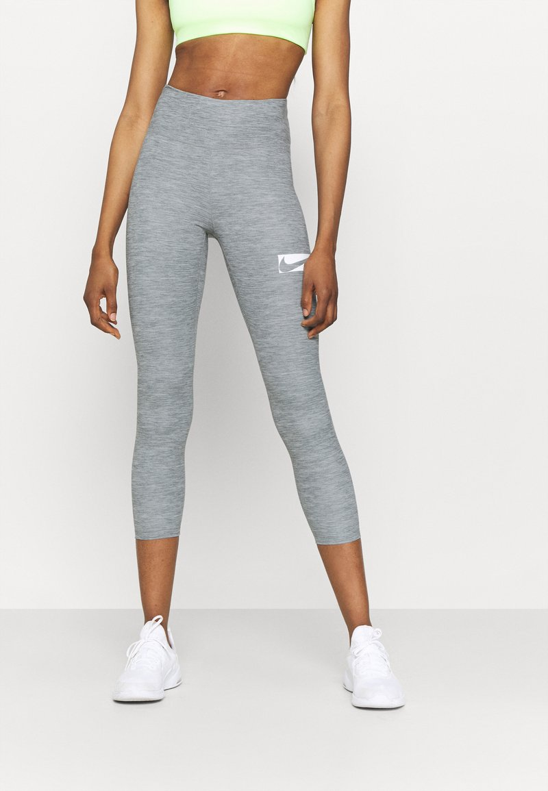 Nike Performance - ONE - Leggings - light smoke grey/heather/white