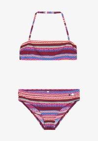 Buffalo - BANDEAU SET - Bikini - bordeaux - 2