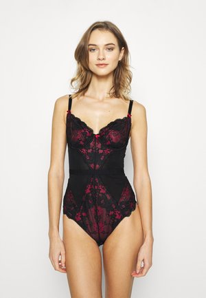 AMOUR UNDERWIRED BODY - Body - black/red