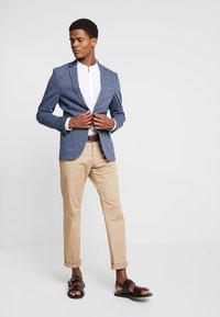 Pier One - Blazer jacket - mottled blue - 1