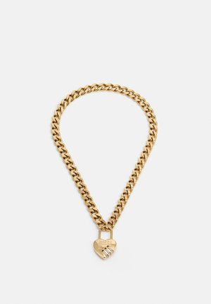 LOCK ME UP - Necklace - gold-coloured