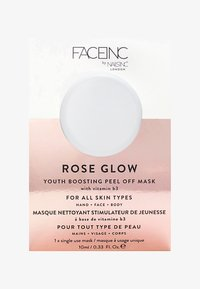 INC.redible - FACE INC ROSE GLOW PEEL OFF POD MASK 10ML - Face mask - 9323 neutral - 0