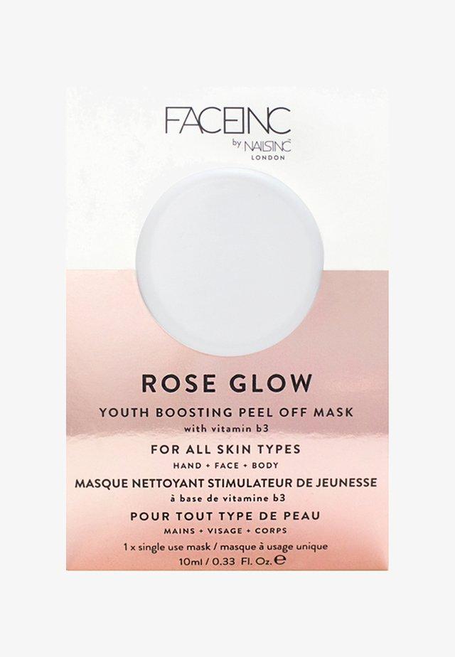 FACE INC ROSE GLOW PEEL OFF POD MASK 10ML - Masque visage - 9323 neutral