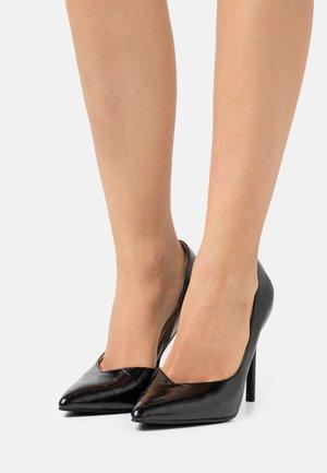 PEITRA - Lodičky na vysokém podpatku - black