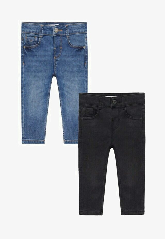 2 PACK - Slim fit jeans - middenblauw