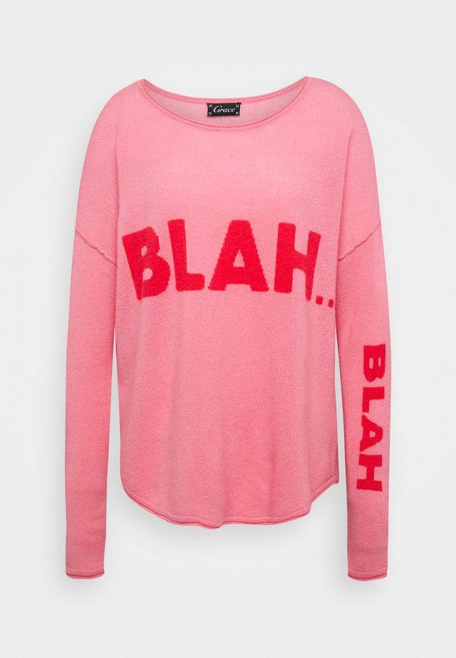 BLAHBLA - Jumper - rosa