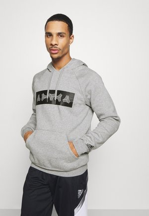 HOODY - Bluza z kapturem - medium grey heather