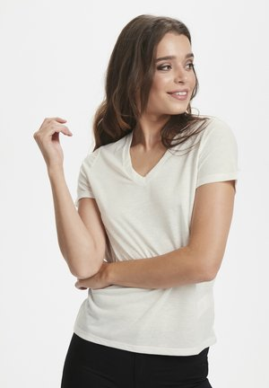 Basic T-shirt - white/creme