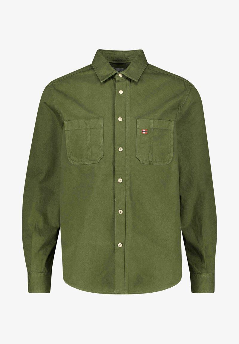 Napapijri - GEL  LANGARM - Shirt - green depths