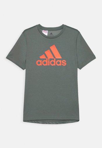 Camiseta estampada - blue/true orange