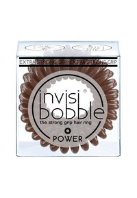 Invisibobble - POWER HAARGUMMI 2 PACK - Hårstyling-accessories - pretzel brown - 1
