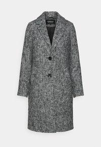 ONLSANDIE COAT - Short coat - black/salt/pepper