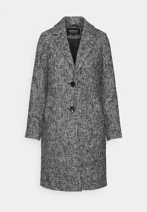 ONLSANDIE COAT - Krátký kabát - black/salt/pepper