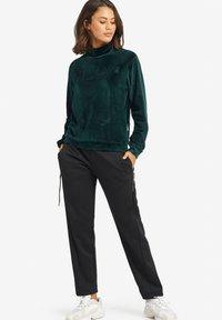 khujo - RISSA - Sweatshirt - turquoise - 1