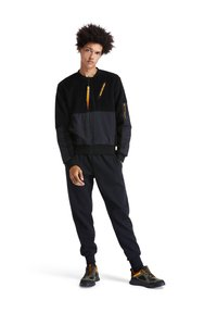 Timberland - EARTHKEEPERS+ SHERPA BOMBER - Bomber Jacket - black - 1
