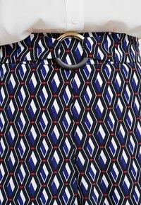 Dorothy Perkins - GEO PRINT RING PALAZZO - Pantalones - multi-coloured - 5