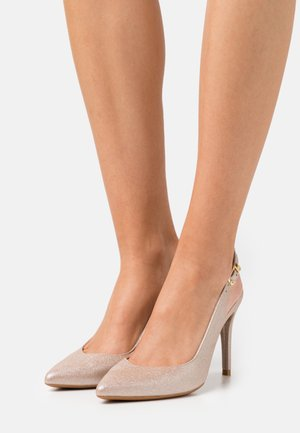 VICKIE SLING BACK  - Klassiske pumps - gold