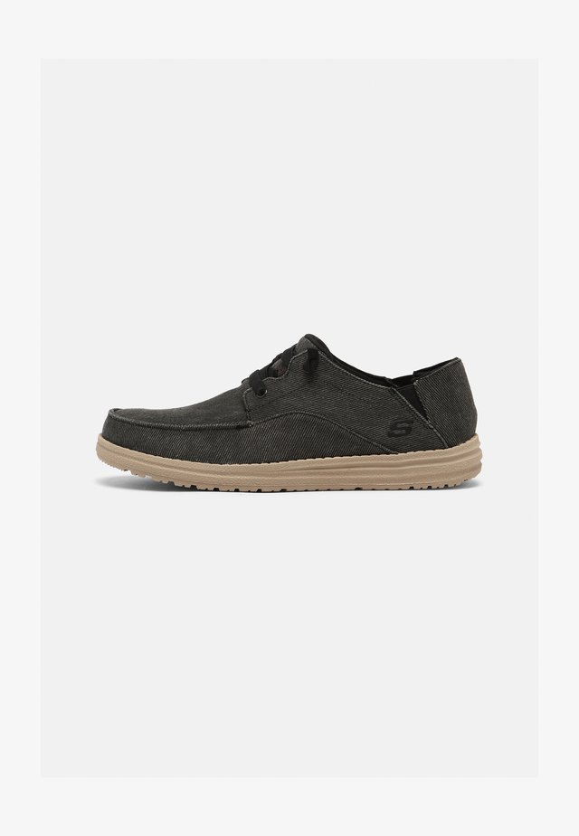 MELSON VOLGO - Casual lace-ups - black
