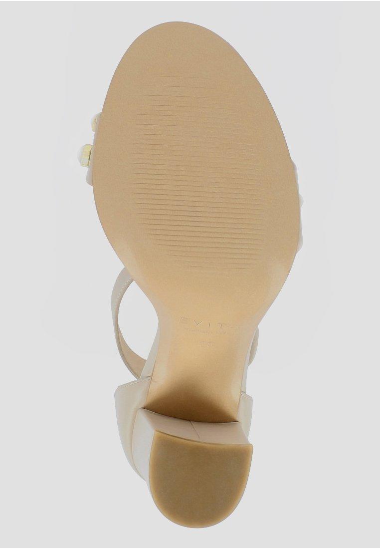 Evita EVA - Sandalen met hoge hak - off-white - Damesschoenen Heet