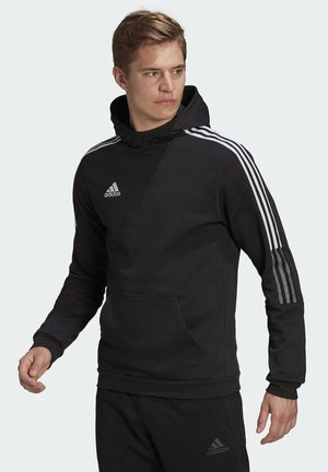 TIRO 21 SWEAT HOODIE - Sweat à capuche - black