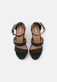 Rubi Shoes by Cotton On - BRADY WEDGE  - Platform sandals - black - 5