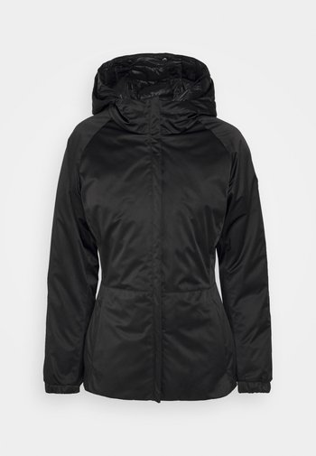 RECYCLED MATTE JACKET - Light jacket - black dark steel