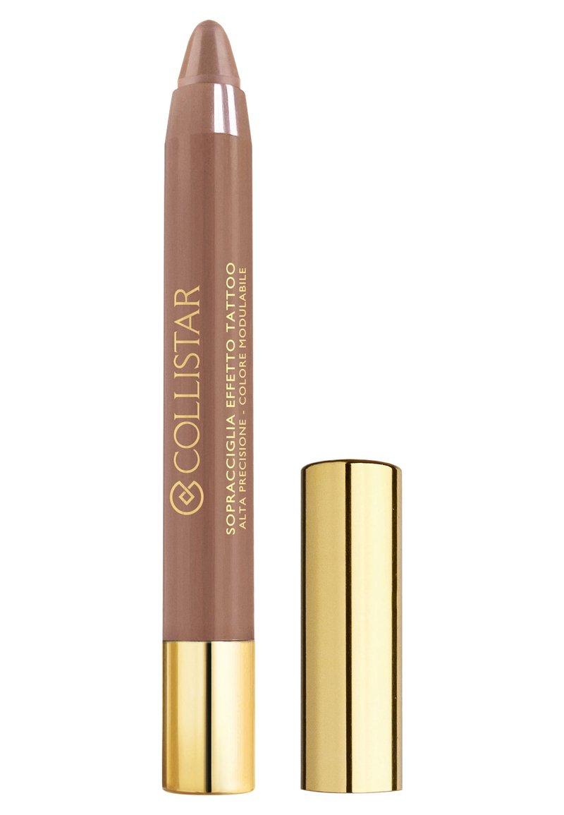 Collistar - TATTOO EFFECT EYEBROWS - Eyebrow pencil - n.1 cappuccino
