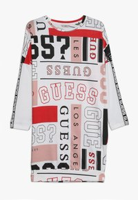 Guess - JUNIOR EXCLUSIVE DRESSES - Jersey dress - true white - 0
