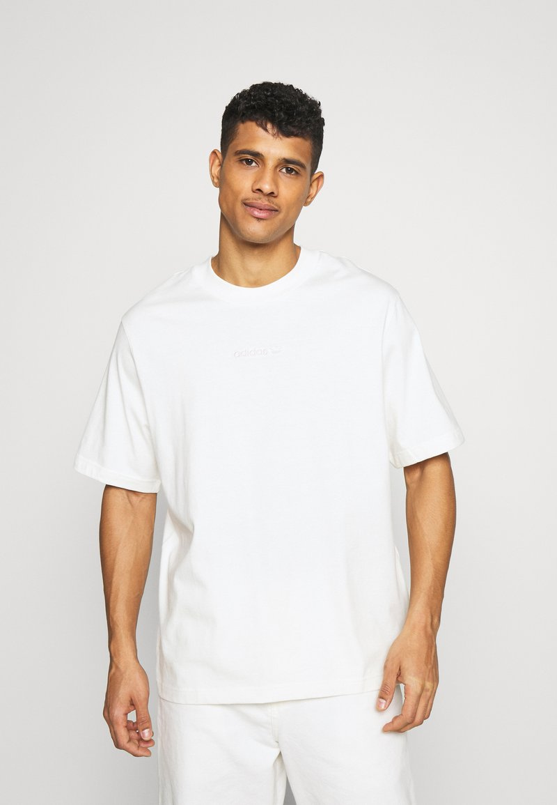 Reebok Classic - PASTEL SHORT SLEEVE TEE - T-shirt z nadrukiem - owhite