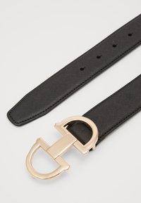 ALDO - GORLENKO - Belt - black/gold-coloured - 1