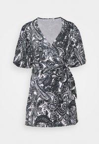 Faithfull the brand - GODIVA WRAP DRESS - Denní šaty - black - 6