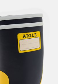Aigle - LOLLY POP LABEL UNISEX - Holínky - indigo/jaune/blanc - 5