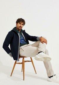 Ecoalf - Zip-up sweatshirt - azul - 4
