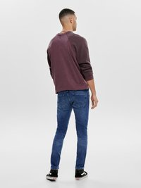 Only & Sons - Slim fit jeans - blue denim - 2