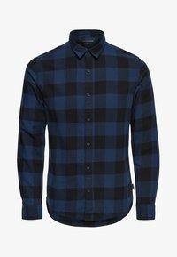 Only & Sons - ONSGUDMUND CHECKED - Skjorta - dark blue, anthracite - 4