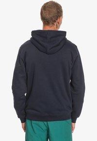 Quiksilver - MIT SHERPA-FUTTER UND - Zip-up hoodie - navy blazer - 1