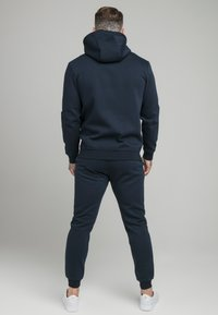 SIKSILK - ZIP THROUGH FUNNEL NECK HOODIE - Felpa aperta - navy - 2