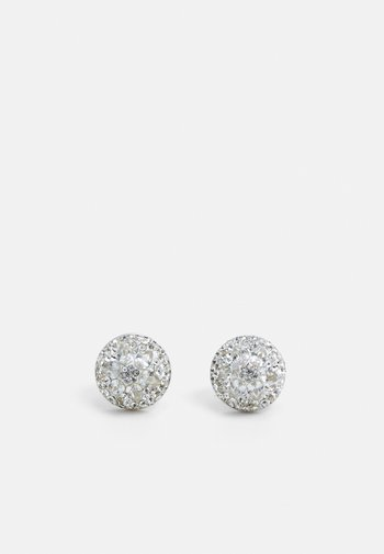 MOTIF DOME STUDS - Earrings - silver-coloured
