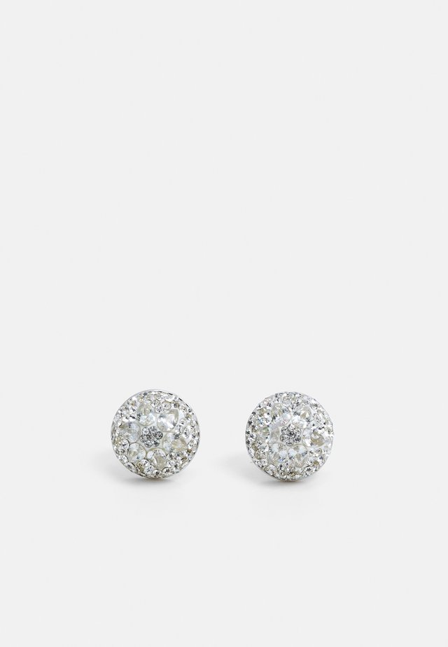 MOTIF DOME STUDS - Øredobber - silver-coloured