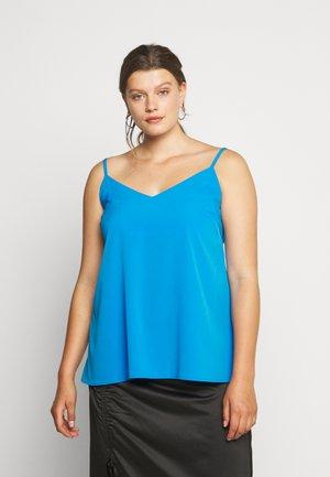 FACED CAMI - Top - blue