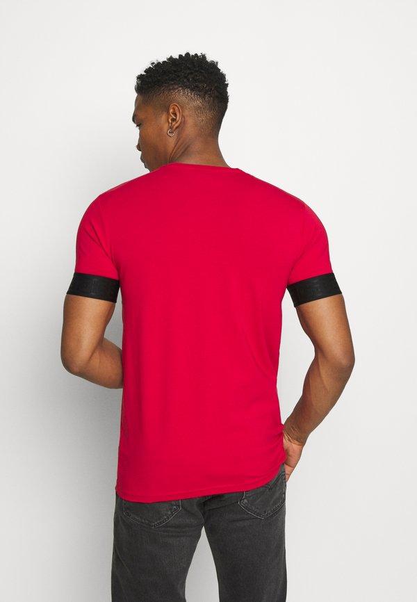 Glorious Gangsta BARCO TEE - T-shirt z nadrukiem - red/black/czarny Odzież Męska EYGB