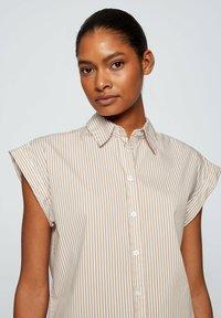 BOSS - BEMIRTA - Button-down blouse - beige - 3
