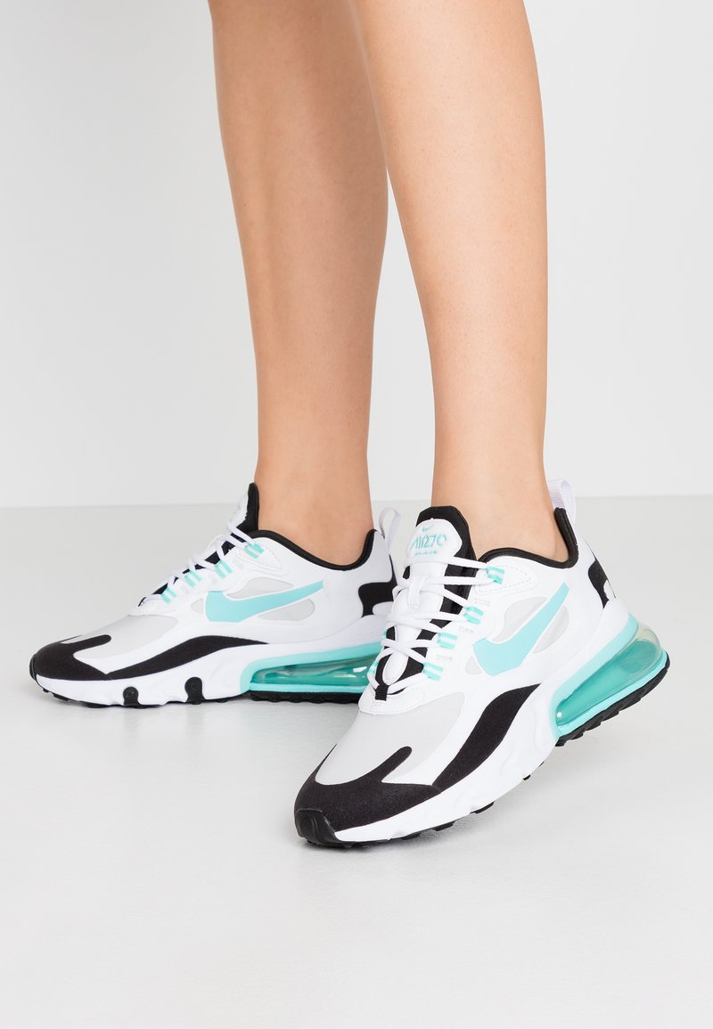 Nike Sportswear - AIR MAX 270 REACT - Sneakers basse - photon dust/aurora green/white/black/pistachio frost