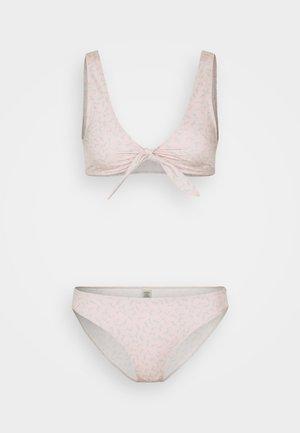 NILLA BRIEF VANESSA TOP SET - Bikini - pink dusty/light unique